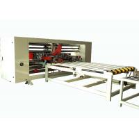 China Corrugated Carton Box Double Pieces Stitching Machinery For 1200 - 1500mm Max Width Sheet wholesale