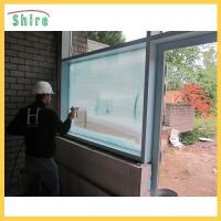 China Adhesive Backing Glass Safety Film , Glass Uv Protection Film Construction Use wholesale