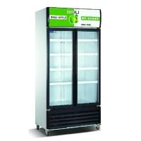 China Vertical Showcase 818L Commercial Refrigerator Freezer LC-608M2AF For Supermarket wholesale