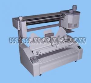 China 80T Desktop Manual Book Glue Binding Machine/book maker wholesale