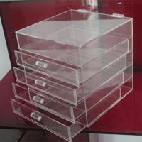 China Hot clear 6 drawer  perspex / acrylic makeup organizer for wholesale wholesale