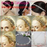 China Bridal Headbands, Wedding Headbands, Rhinestone Headbands, Hair Accessory wholesale
