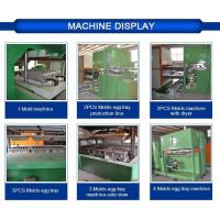 China Egg Tray Mould Pulp Tray Machine With Plc Cabinet , 2 Years Guarantee on sale