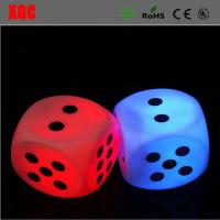 China LED Glow Dice Game Toy For Party Fun Adult Couple Novelty Gift Casino Dice Lucky Game Bar Pub LED Light Sign Set for Boa wholesale