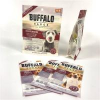 China Hot Sealed Pet Food Pouch Side Guseet Plastic Ploy Customized Logo CMYK Color wholesale