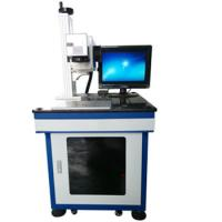 Quality CO2 Wood Products Laser Marking Machine 10W / 30W Industrial Marking Equipment for sale