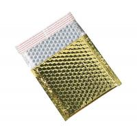 China self  seal padded bubble mailer gold VMPET  bubble bag  32cm*36cm wholesale