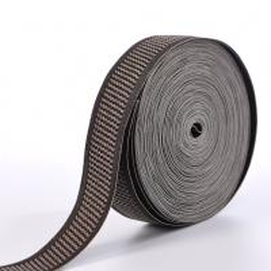 China 37mm Narrow Woven Mattress Tape Edge Polyester / Nylon / Cotton Material wholesale