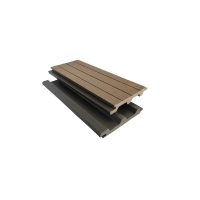 China Sanding ISO14001 150mm 23mm WPC Wall Cladding on sale