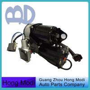 Quality Black Air Suspension Compressor Pump , Air Shock Compressor LR025111 for sale