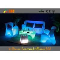 China Rechargeable Durable Furniture LED Sofas For Club / Corporate Events wholesale