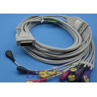 Quality No Resistance EKG Electrode Lead Wires Compatible Nihon Kohden TP7001 for sale