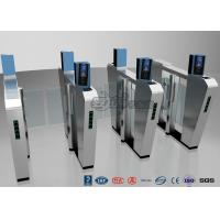 China Waist Height Turnstile Security Systems , Face Recognition Speed Fastlane Turnstile wholesale