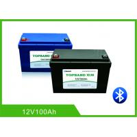 China Camper Van Motorhome RV Camper Battery12V 100AH Compatible With Most Inverters wholesale