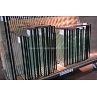 China Low Iron Double Glazed Insulated Glass Unit , Hollow Glass Shower Enclosures wholesale