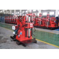 China Soil Investigation Core Drilling Machine Easy Operation With Hydraulic Feeding Device wholesale