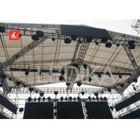 China Light Weight Steel Stage Roof Truss With Spigot And Screw Connection on sale