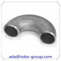 China ASME A403 WPS TP304/304L Butt Weld Fittings Stainless Steel 180 Degree Elbow on sale