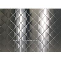 China 304 Checked Stainless Steel Surface Finish Corrosion Resistance construction Use wholesale