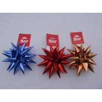 China Hand Made Professional Gift Bows Christmas Bows In PET Materials wholesale