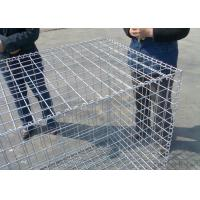 China Durable Retaining Wall Gabion Baskets 60 * 80 / 80*100 Mm Easy To Install wholesale