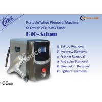 China 1064nm & 532nm Yag Laser Tattoo Removal Equipment on sale