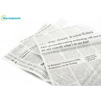 China Oven Freezer Non Stick Food Wrapping Paper With Newspaper Printing Design wholesale