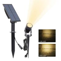 China Solar Spot Garden Lights Ground Stick Into Outdoor Landscape Lighting Sensor ActivaedAuto OFF/ON For Patio,Yard on sale