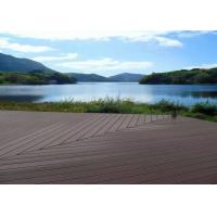 Buy cheap Waterproof Wpc Wood Plastic Composite Deck Boards Customized Color Easy Clean from wholesalers