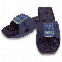 China Feel Welaxe Massaging Slippers with Therapeutic Massage Soles and Leg Clamps wholesale