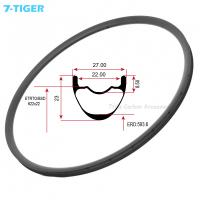 Buy cheap 7-tiger carbon mtb bike rims light weight carbon bicycle wheel 29er ud matt 28 from wholesalers