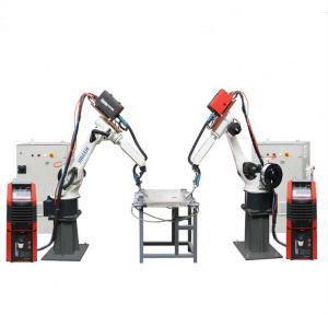 China Arc Mig Aluminum Welding Machine Automatic  Fanuc Industrial Robots Steel Material wholesale