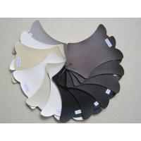 China Flocking Eco Friendly Perforated Leather Fabric , Pu Synthetic Leather wholesale