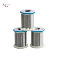 China Fecral Alloy 0cr21al6nb Kanthal A Alloy 835 Wire Strip Resistohm 145 Aluchrom 0 Aluchrom W Ribbon Rod Furnace Heater wholesale