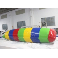 China 0.9mm PVC Tarpaulin Inflatable Air Blast Water Blob For Water Game wholesale