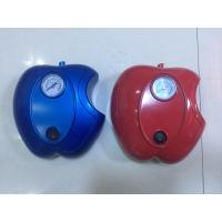 China Apple Shape Car DC12V Car Air Pump Plastic Fast Inflation , Blue / Red Color wholesale