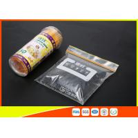 China High Clarity Resealable Resealable Freezer Bags For Frozen Food wholesale
