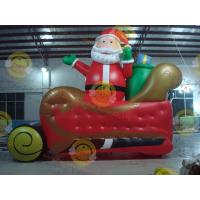 China Giant Inflatable Balloon Santa Claus For Christmas Decoration wholesale