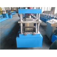 China Concrete Door Frame Shutter Roll Forming Machine 1.0mm thickness Single Chain Driven wholesale