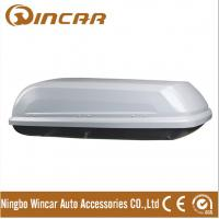Quality Single Open Black Car Roof Boxes in ABS Material 380L Capacity , 3mm ABS board for sale