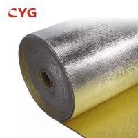 China Heat Reflective Material Fireproof PE Foam Panal HVAC Insulation Foam wholesale