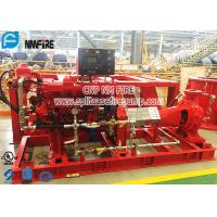 China End Suction Diesel Engine Driven Fire Pump Set Horizontal Firefighting Use wholesale