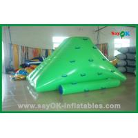 China Kids Inflatable Iceberg Water Toys , Custom Inflatable Pool Toys wholesale