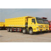 SINOTRUK HOWO 8X4 12 Wheelers Dump Truck For Mining Site And Construction Project