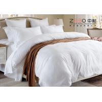 China Various Size Hotel Collection Linen Bedding , Hotel Bedroom Set ZEBO-HB00028 wholesale
