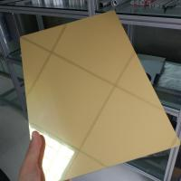 China Waterproof Aluminum Mirror Sheet 1mm 2mm 3mm Thickness Perforated Exterior wholesale