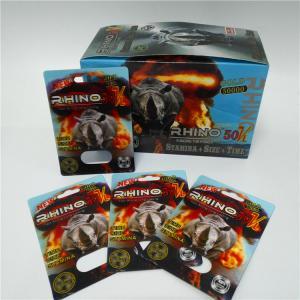China Premier ZEN Male Sexual Performance Enhancement Pill Blister Packaging Paper Box wholesale