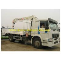 China CCC truck mounted crane Promotion telescopic boom 5 tons with 13m arm length wholesale