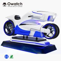 Buy cheap 2019 Newest Design Amazing VR Racing Game Machine 9d VR Motorcycle from wholesalers