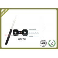 China GJXFH FTTH 2 Core Indoor Fiber Optic Drop Cable for home cabling system wholesale